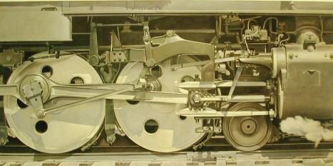 "Charles Sheeler, ""Rolling Power,"" 1939"